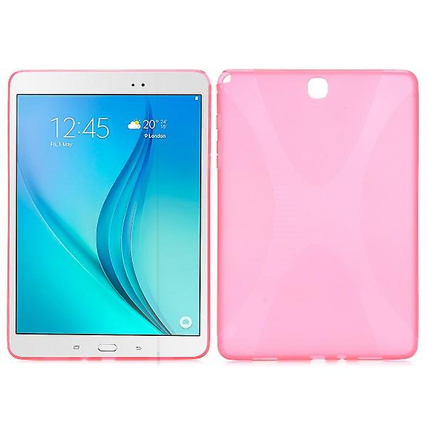 Pink Silicone Case for Samsung Galaxy Tab 9.7 T550 T551 T555 A N