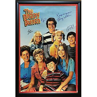 The Brady Bunch - Signed Movie Poster
