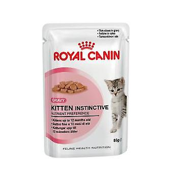 Royal Canin Kitten Instinctive 12 ( 4 -12 Months) (Cats , Cat Food , Wet Food)