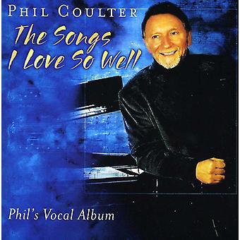 Phil Coulter - canciones de amor tan bien [CD] USA importar