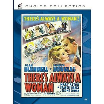 There's Always a Woman [DVD] USA import