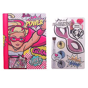 Barbie SPARKLE THE DAY BEAUTY BOOK SET 1