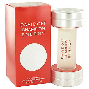 Davidoff Men Davidoff Champion Energy Eau De Toilette Spray By Davidoff