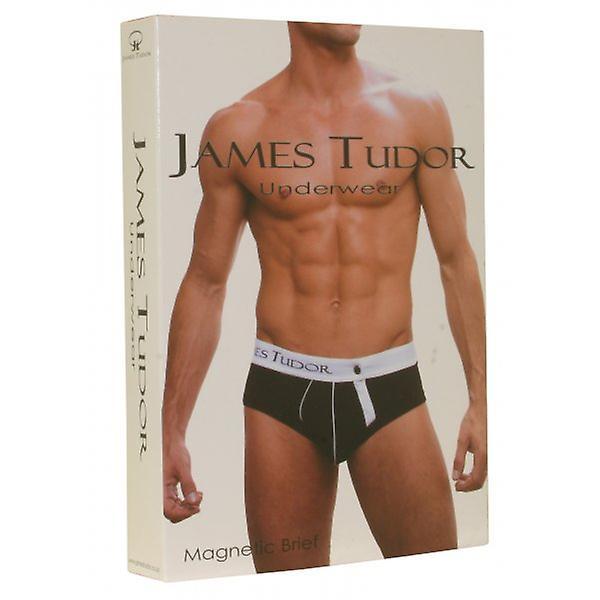 James Tudor Magnetic Brief, White