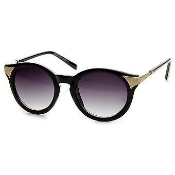 Womens Fashion P3 Circle Round Cat Eye Sunglasses