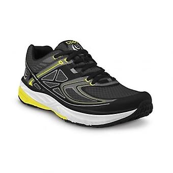 Ultrafly Mens Low Drop & Wide Toe Box Road Running Shoes Black/Yellow