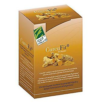 100% Natural Curcufit 60 Cap.