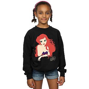Disney Princess ragazze Ariel sagoma Sweatshirt