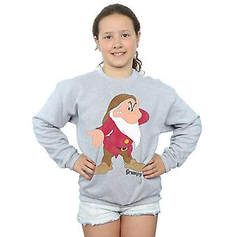 Disney Girls Snow White and the Seven Dwarves Classic Grumpy Sweatshirt