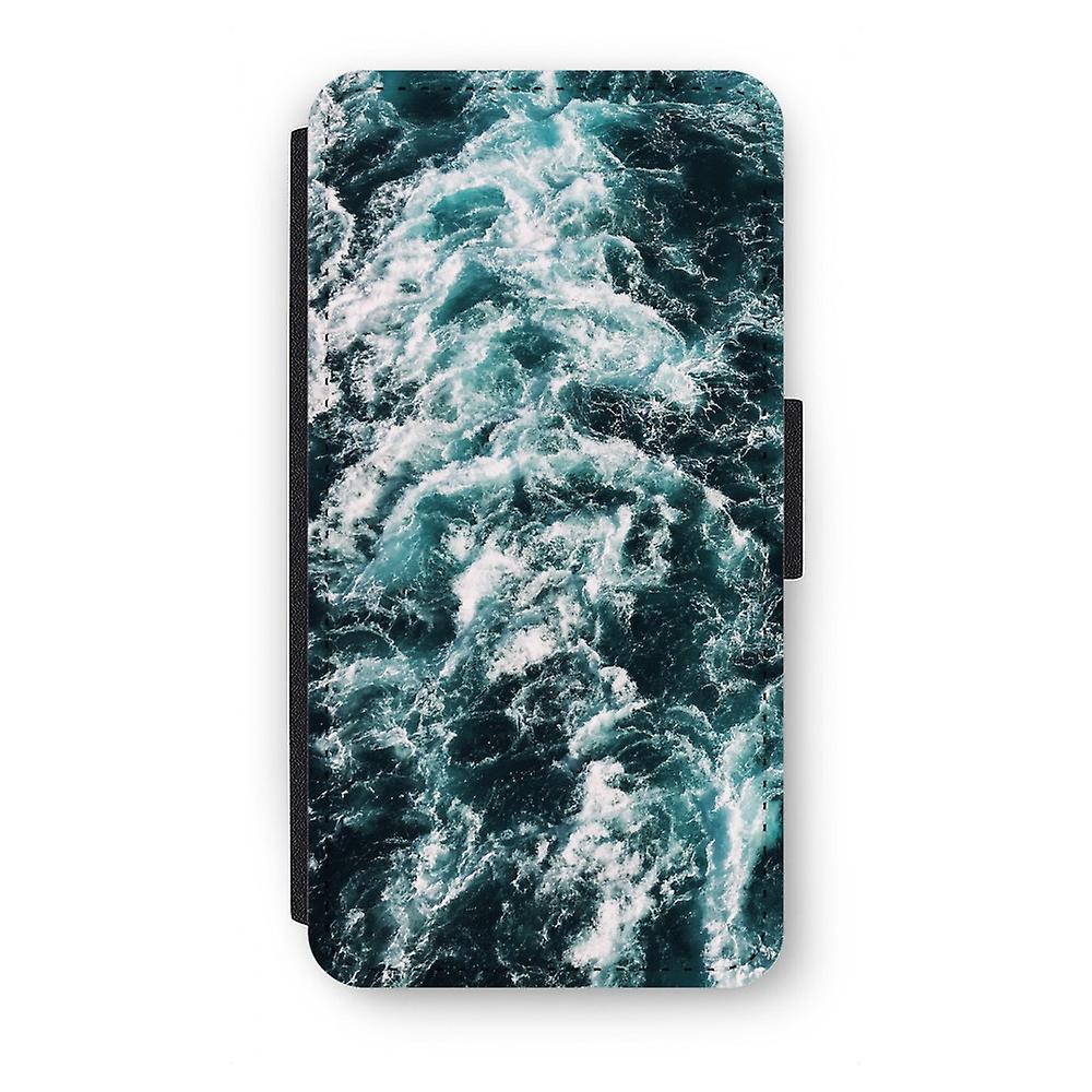 Huawei P9 Flip Case - Ocean Wave