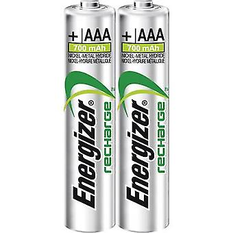 AAA battery (rechargeable) NiMH Energizer Power Plus HR03 700 mAh 1.2 V 2 pc(s)