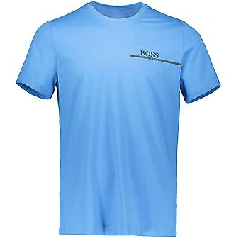 Hugo Boss Black 50381167 Rn 24 Basic Regular Fit Blue T-shirt