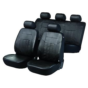 Soft Nappa Car Seat Cover Black Artificial leather For Seat AROSA 1997-2004
