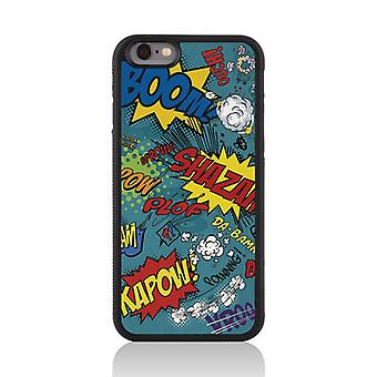 Call Candy Apple iPhone 7 Comic Capers 2D Printed Case-Blue