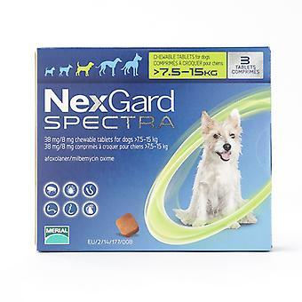 NexGard Spectra Medium Dogs 7.5-15kg (16-33lbs) 6 Pack