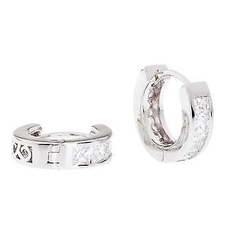 Sterling 925 Silver HOOP earrings - BLING KING 16 mm