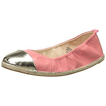 Nine West Womens Quotie Leather Closed Toe Ballet Flats