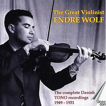 Mozart/Bruch/Beethoven - store Violinist Endre Wolf [CD] USA importen