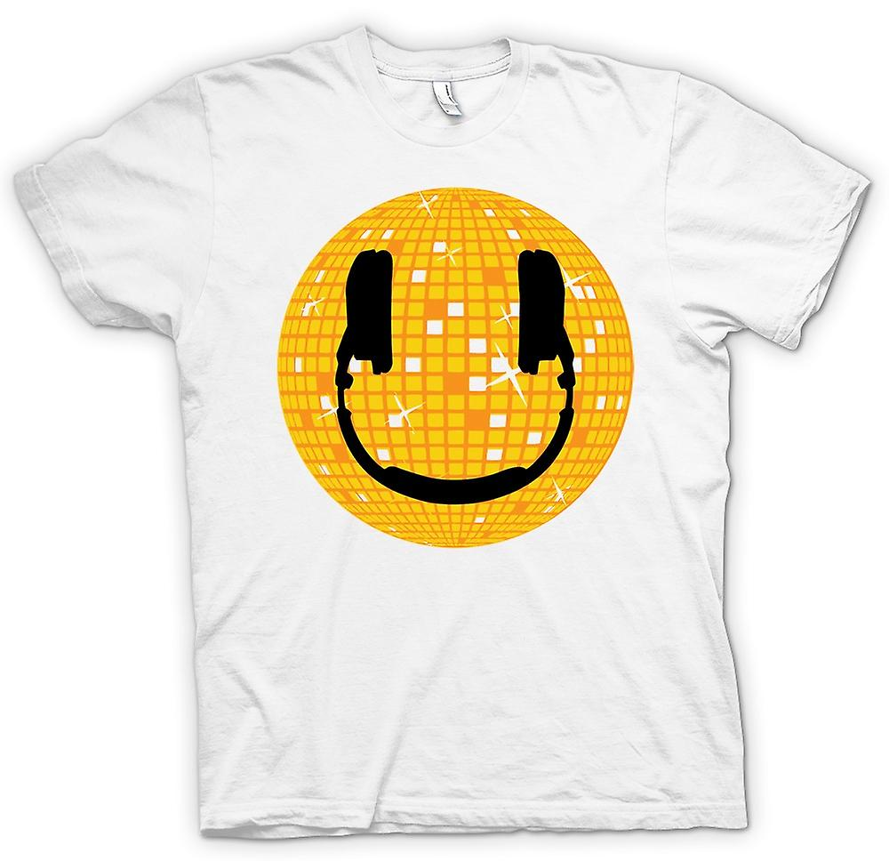 T-shirt - Smiley Face - palla da discoteca
