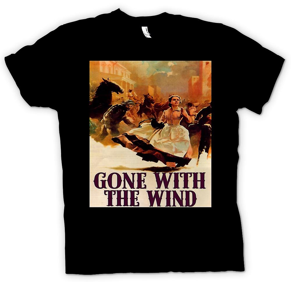 Womens T-shirt - Gone With The Wind - Classic Movie