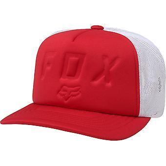 Fox Foamin Moth Snapback Hat - Dark Red
