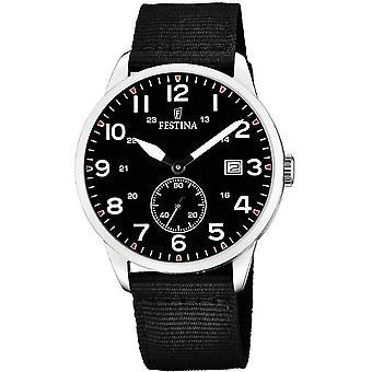 Festina mens watch set with alternating band F20347/3