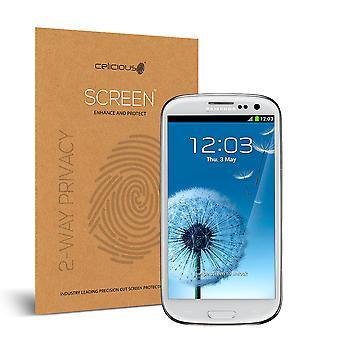 Celicious Privacy 2-Way Visual Black Out Screen Protector for Samsung Galaxy S3 Neo