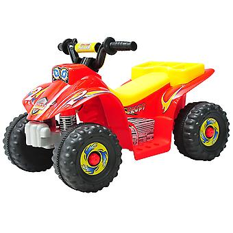 HOMCOM Kids Ride-on Motor Bike Electric Car Off Road Style Battery Powered Red