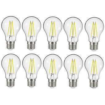 10 X Energizer 7.2W = 60W LED Filament GLS Light Bulb Lamp Vintage ES E27 duidelijk Edison schroefdraad [energie klasse A +]