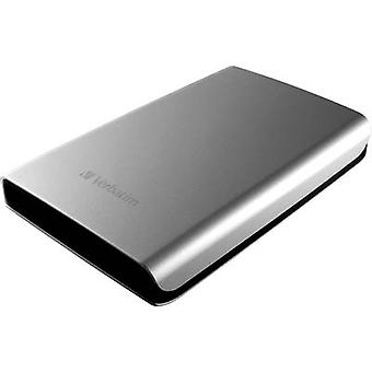 2.5 external hard drive 2 TB Verbatim Store 'n' Go Silver USB 3.0