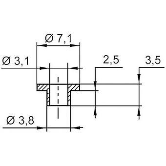 Insulating washer ASSMANN WSW V5357 Outside diameter 7.1 mm SR25