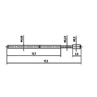PTR 1007-C-0.7N-AU-0.9C , test pins