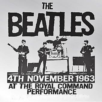 Beatles Royal Command Performance 1963 stål kylskåpsmagnet