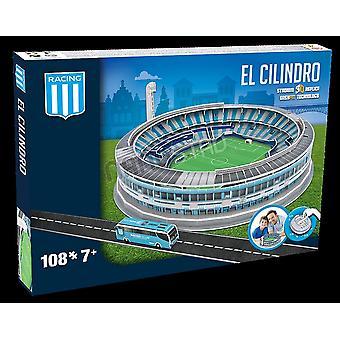 Racing Club Argentina El Cilindro estadio 3D rompecabezas