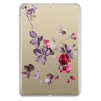 iPad Mini 4 Transparent Case (Soft) - Pretty flowers