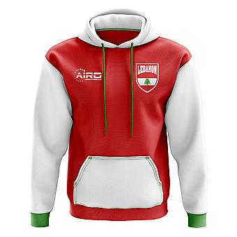 Libanon Concept land voetbal Hoody (rood)