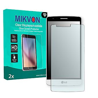 LG D724 Screen Protector - Mikvon Clear (Retail Package with accessories)