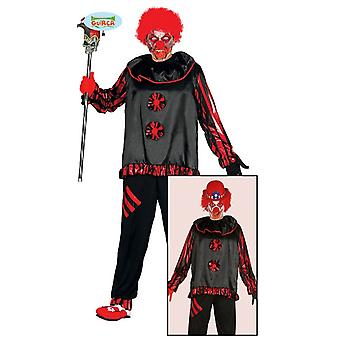 Zombie clown costume for men Carnival circus ring of undead