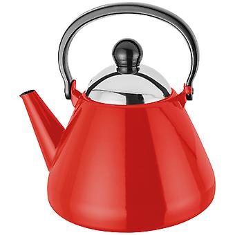 Judge Induction, Red Stove Top Kettle, 1.5 Litre