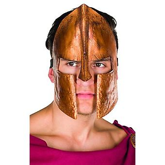Spartans mask bronze Warrior mask Gladiator Carnival accessory