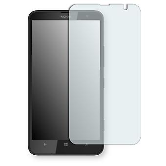Nokia Lumia 1320 screen protector - Golebo Semimatt protector (deliberately smaller than the display, as this is arched)