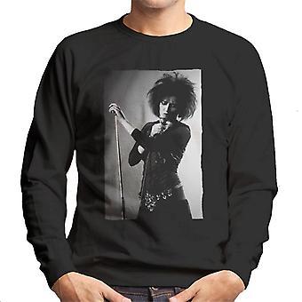 Souxsie Sioux Live Black And White Men's Sweatshirt