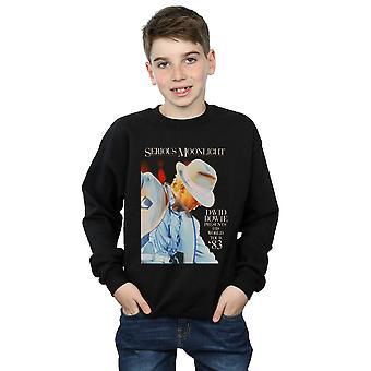 David Bowie gutter alvorlig Moonlight Sweatshirt
