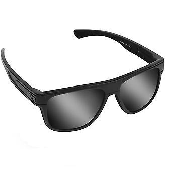 BREADBOX Replacement Lenses Polarized Black Iridium & Red by SEEK fits OAKLEY