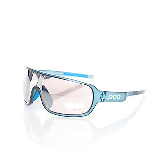 POC Lead Blue Translucent-Brown-Silver Mirror 2018 Do Blade Cycling Glasses