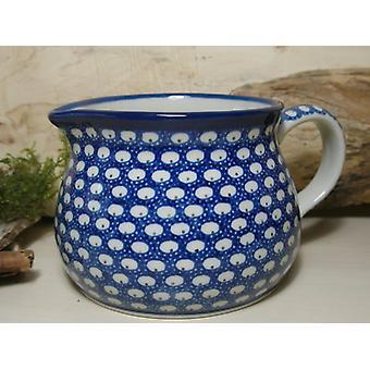Jar, 1500 ml, height 12 cm, tradition 4 - boleslawiec aardewerk - BSN 7435
