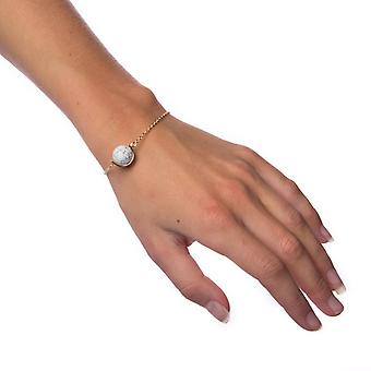Armbånd marmor bold-hvid