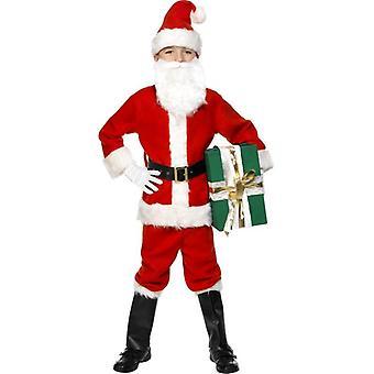 Santa Costume, Child, Small Age 4-6