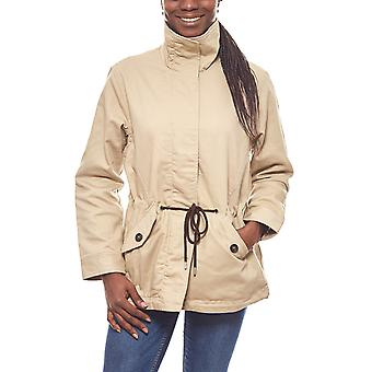Aniston cool transition jacket with high-closing collar beige