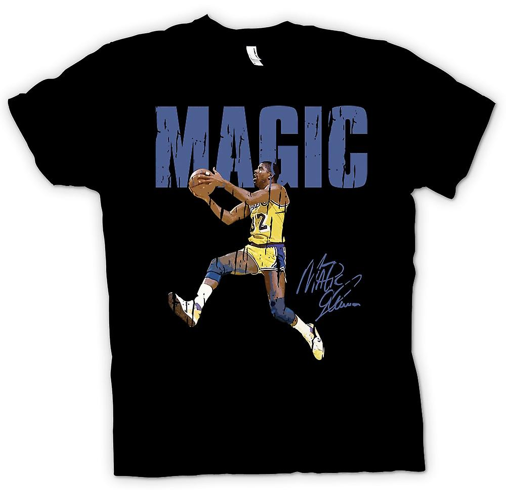 Womens T-shirt - Magic Jumping - Cool Basketball